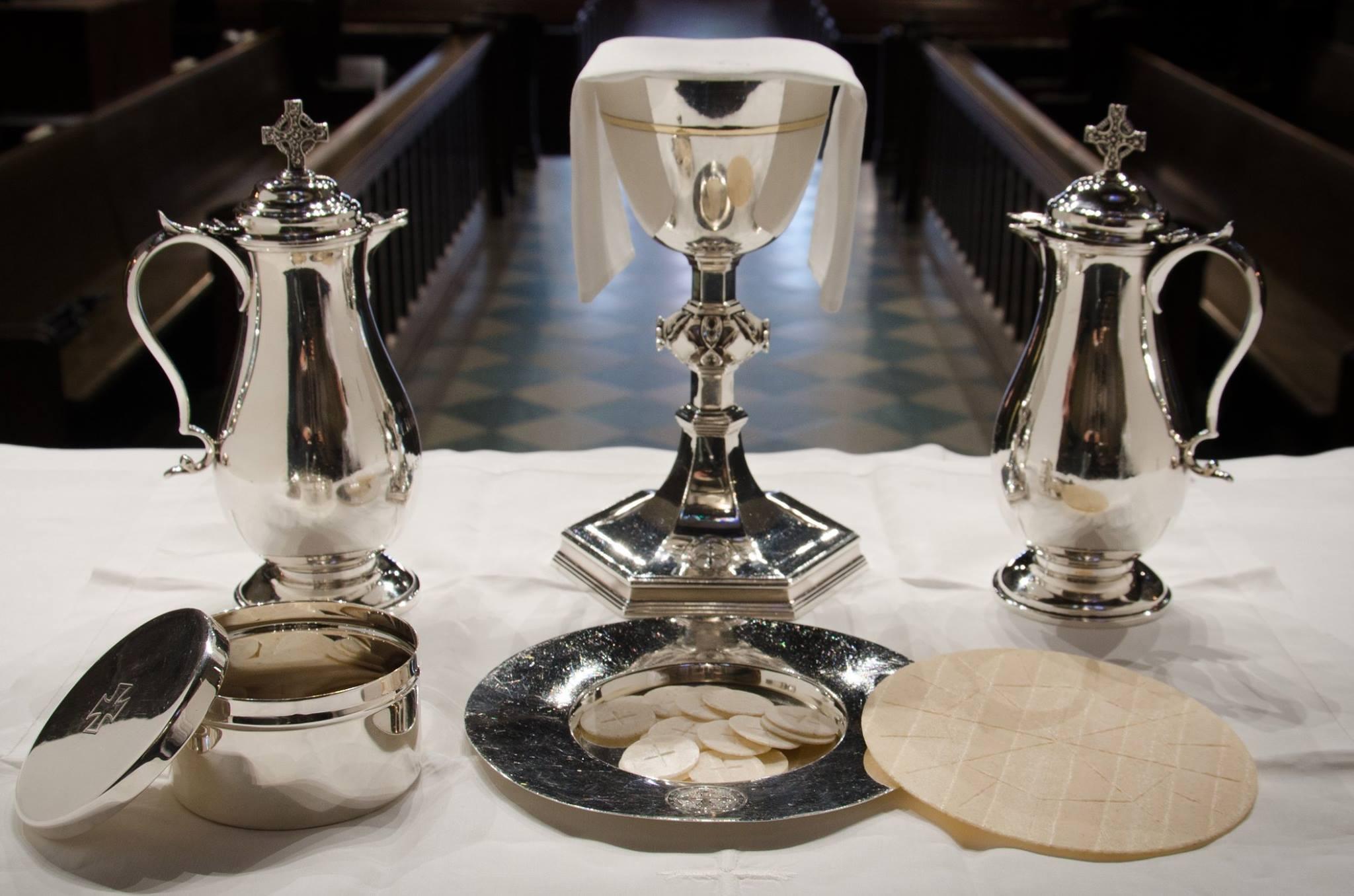Communion at St James