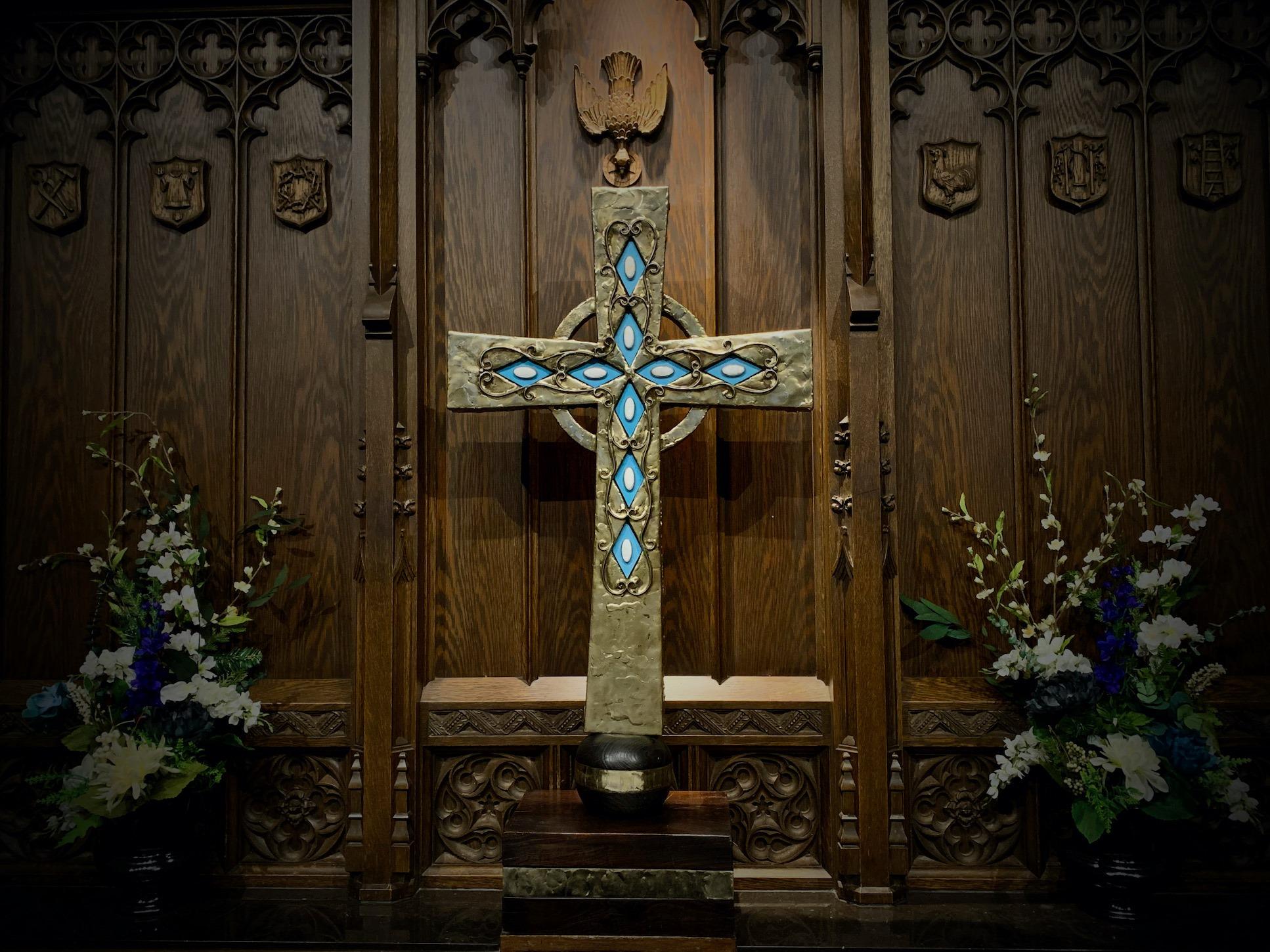 St James Episcopal Church cross