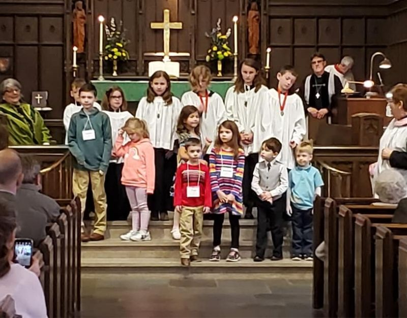 Children and the Church St James