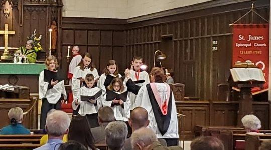 Children's Choristers St James
